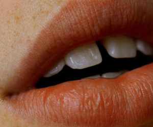lips, aesthetic, and teeth image