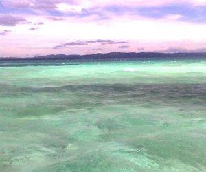 ocean, sea, and sky image
