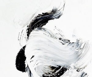 art, paint, and white image