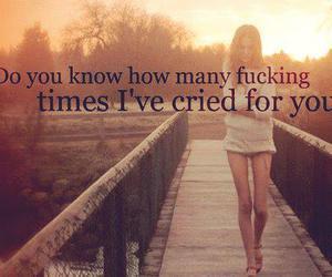 cry, sad, and text image
