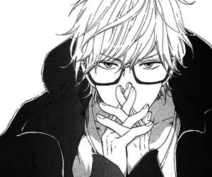 aesthetic, bl, and black and white image