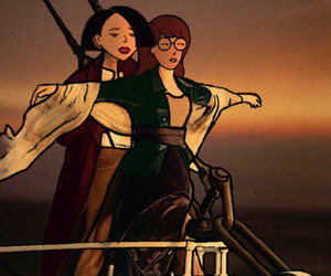 90s, Daria, and titanic image