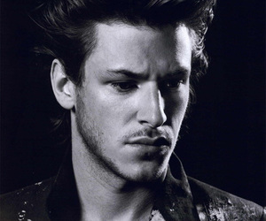 gaspard ulliel, sexy, and black and white image