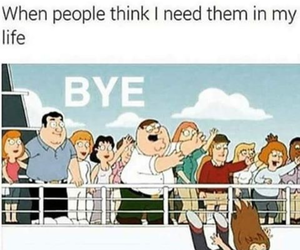 funny, bye, and family guy image
