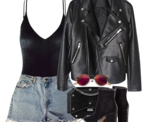 bag, boot, and clothes image