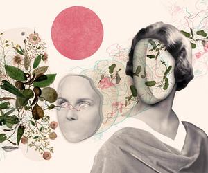 art, pink, and rosa image