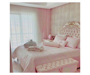bedroom, fairytale, and girlie image