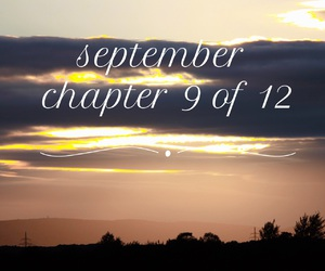 chapter, months, and September image