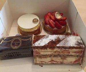 dessert, food, and love image