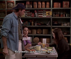 enjoy, lorelai and rory, and funny image