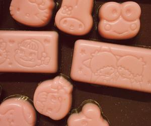 チョコレート, いちご, and お菓子 image