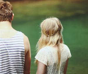couple, girl, and boy image