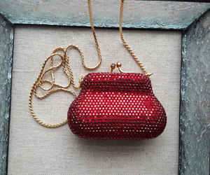 etsy, crystal purse, and crystal evening bag image