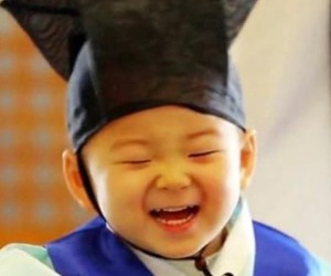 boy, happy, and laugh image