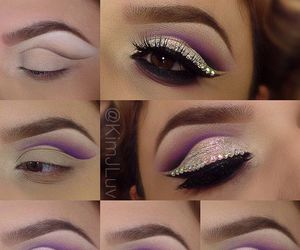 girl, makeup, and glam image