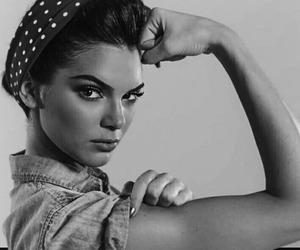 kendall jenner and strong image