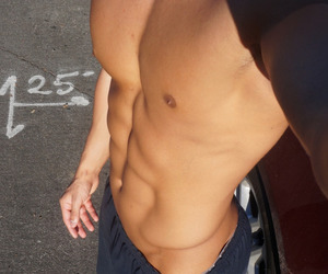 boy, abs, and Hot image