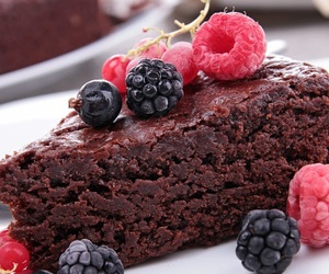 barry, delicious, and brownies image