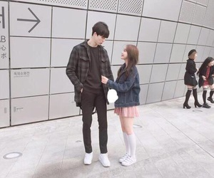 love, couple, and asian image