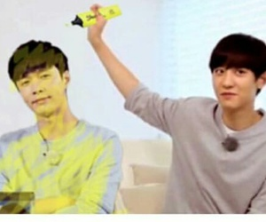 exo, kpop, and chanyeolie image