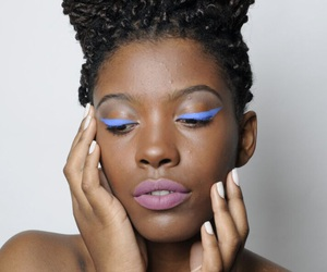 Afro, blogger, and fashion image