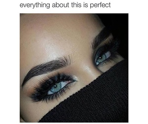 goals, eyes, and makeup image