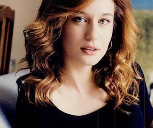 actrice, beautiful, and haïr image