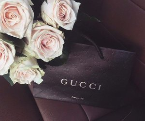 gucci, flowers, and roses image