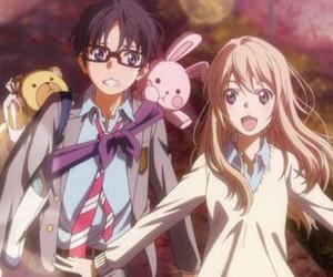 anime, shigatsu wa kimi no uso, and kaori miyazono image