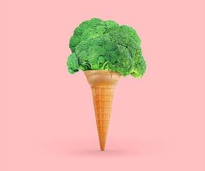 minimalist, food, and pink image