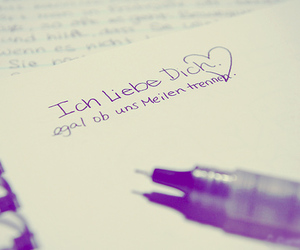 I Love You, love, and ich liebe dich image