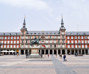 madrid, Plaza, and spain image