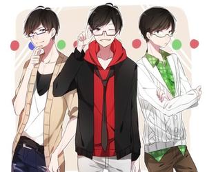 osomatsu-san, osomatsu, and karamatsu image