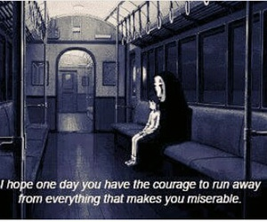 quotes, spirited away, and anime image