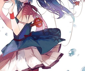 miku, vocaloid, and anime image