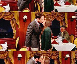 kiss, amy, and sheldon cooper image