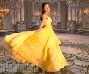 emma watson, beauty and the beast, and princess image