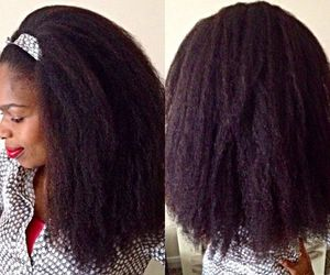 long hair, natural hair, and afro hair image