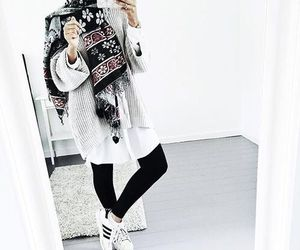 hijab, style, and black image