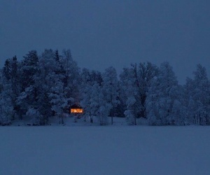 house, lonely, and nature image