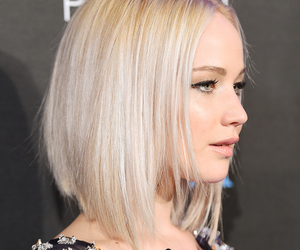 blonde, hair, and bob image