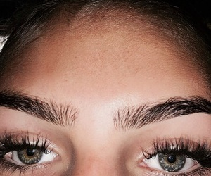 eyebrows and girl image