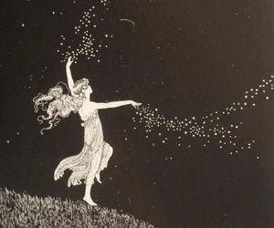 stars, art, and magic image