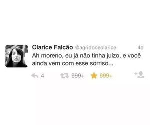 quote, tweet, and clarice falcão image