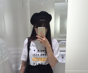 ulzzang, kfashion, and aesthetic image