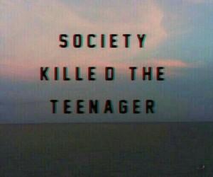 society, teenager, and grunge image