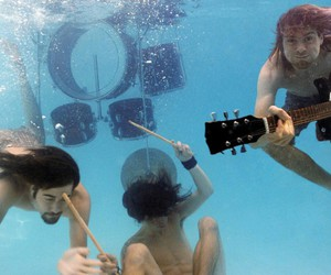 Nevermind, nirvana, and pool image