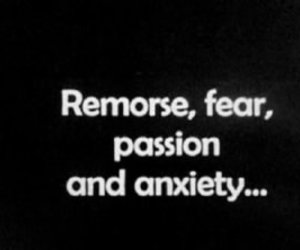 anxiety, fear, and passion image
