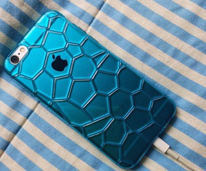 blue, case, and iphone image