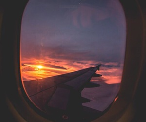 aesthetic, tb, and airplane image